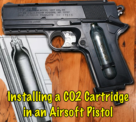 installing co2 cartridge in airsoft pistol